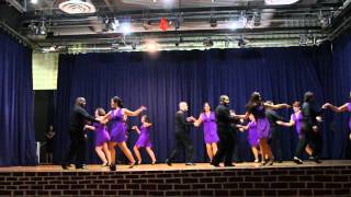 Salsa Performance Cycle 2 @ Nieves Latin Dance Studio 3rd Annual Christmas Party