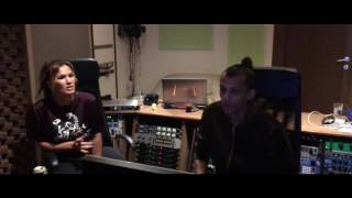 Vitaa & Stromae (Studio session)
