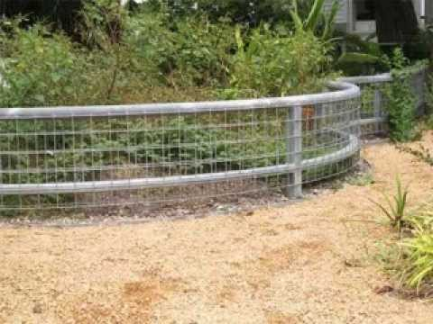 Cheap garden fence ideas youtube Garden fence ideas