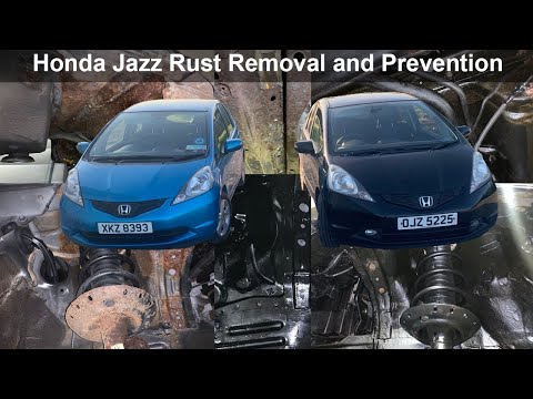 Honda Jazz Rust