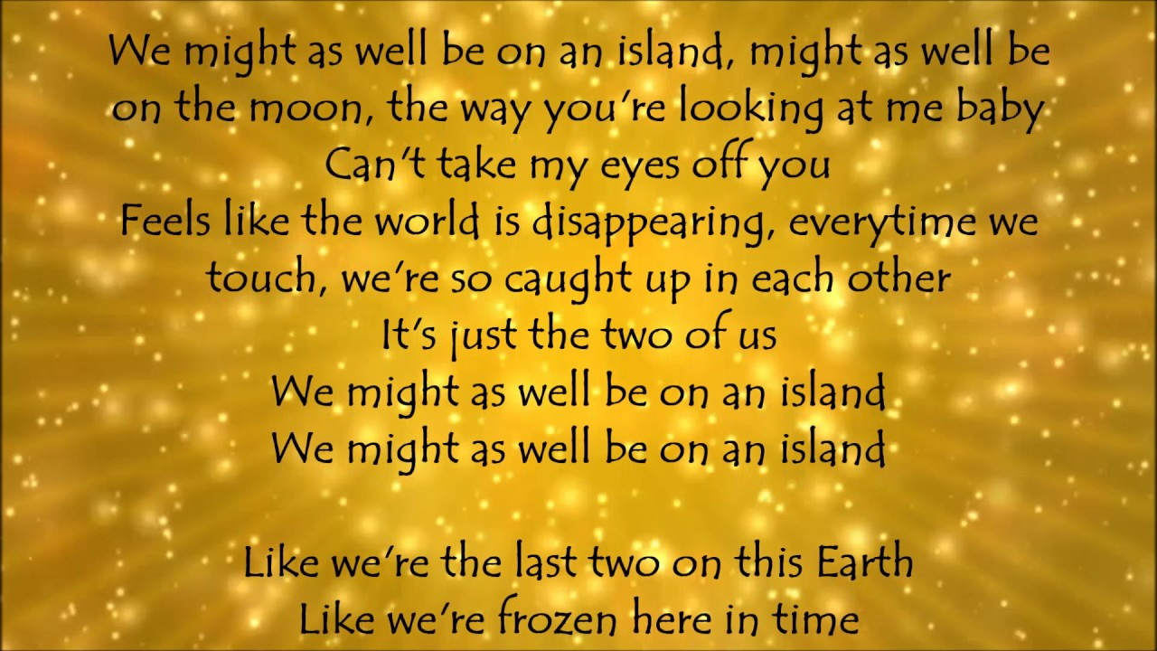 Island - Florida Georgia Line Lyrics - YouTube