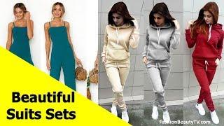 Top 50 beautiful suits, cheap suit sets for ladies S2
