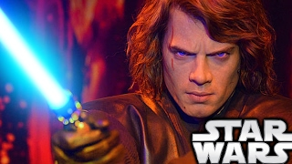 How Did Anakin Skywalker Get His Scar? - Star Wars Explained