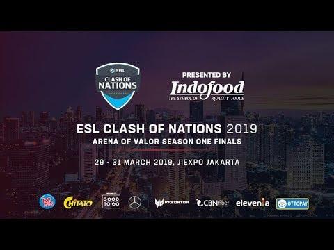 ESL Clash Of Nations - AOV SEASON ONE FINALS, DEVITA Vs FAPTV