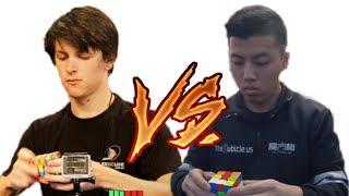 Feliks Zemdegs Vs Bill Wang - Rubiks cube World Championship 2017 !