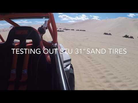 "Glamis 2019 31""STU Sand Tires And Shocks Adjustment RZR Turbo"