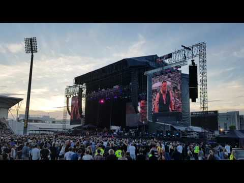 My City of Ruins - Bruce Springsteen - Including tribute to Christchurch 21st February 2017. HD