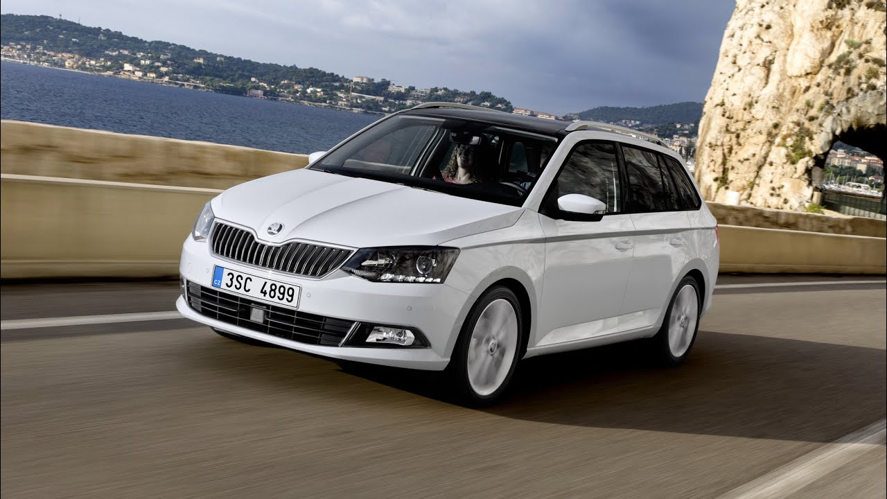 new skoda fabia iii combi 2015 first driving footage doovi. Black Bedroom Furniture Sets. Home Design Ideas