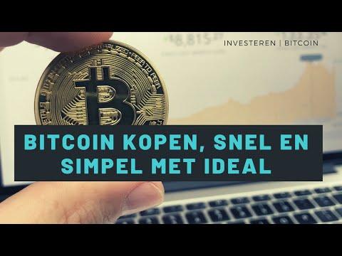 Bitcoin kopen, snel en simpel met IDEAL via BLOX (+ €5/€10 tegoed)