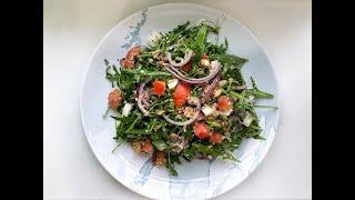 Быстрый и вкусный салат с тунцом!
