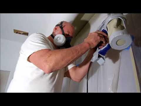 Paint Spraying Using Graco Sprayer