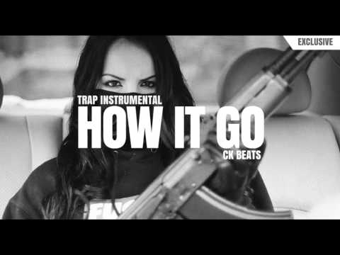 Gangsta Trap Beat 2017 Dark Hip Hop Rap Instrumental