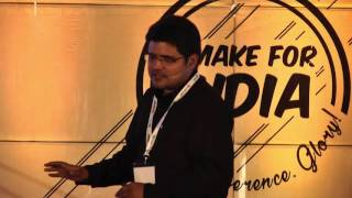 Building a desi OS.- Rakesh Deshmukh of Indus OS at UnPluggd Winter Edition 2016