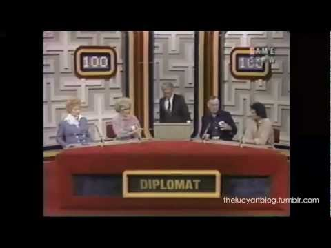 Lucille Ball Betty White Dick Martin and Desi Arnaz Jr play Password Plus