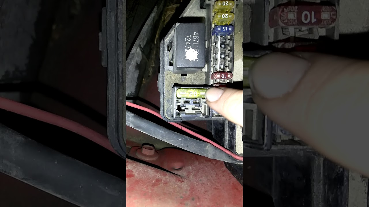 Power outlet not working, FIXED on my 98 dodge ram 1500