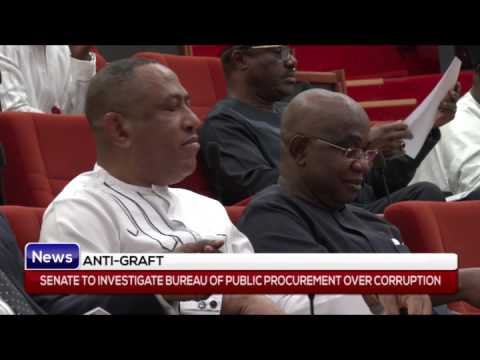 ANTI GRAFT: Senate to investigate bureau of public procurement over corruption