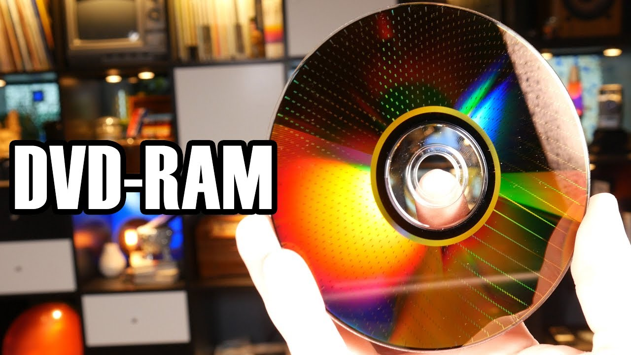 Dvd-ram  The Disc That Behaved Like A Flash Drive