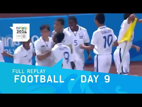 Football - Honduras v Vanuatu 5th/6th Place    Full Replay   Nanjing 2014 Youth Olympic Games