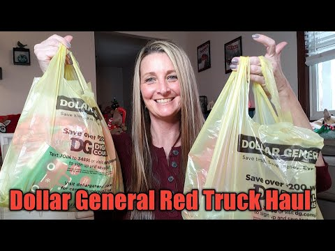 Dollar General Red Truck Haul & quick trip to DG ❣Nov 23