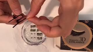Silksence Magnetic Eyelashes, how to use