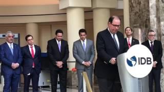 Felipe Vicini inaugura Glorias: en busca del oro y Los Juegos de la Inclusión en Washington D.C.