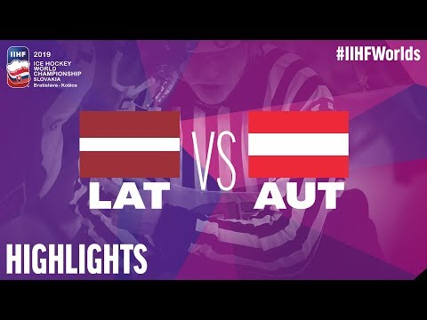 Latvia Vs. Austria | Highlights | 2019 IIHF Ice Hockey World Championship