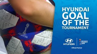 France 2019 – Who will claim Hyundai Goal of the Tournament?