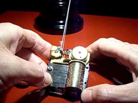 power a music box movement with a tiny Hog Stirling engine