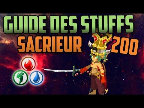 [Dofus] Guide des Stuff -  SACRIEUR  -  2.39