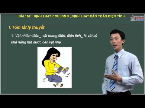 Lý 11 - Điện tích - Điện trường - Định luật bảo toàn điện tích - Cadasa.vn