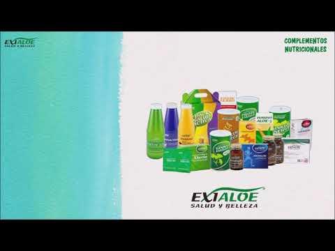 Presentación  Productos Aloe Vera Exialoe.