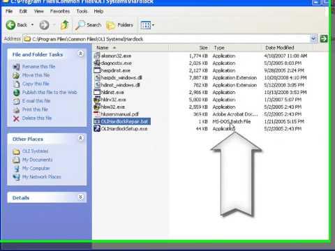 Correcting OLI USB Hardlock problems