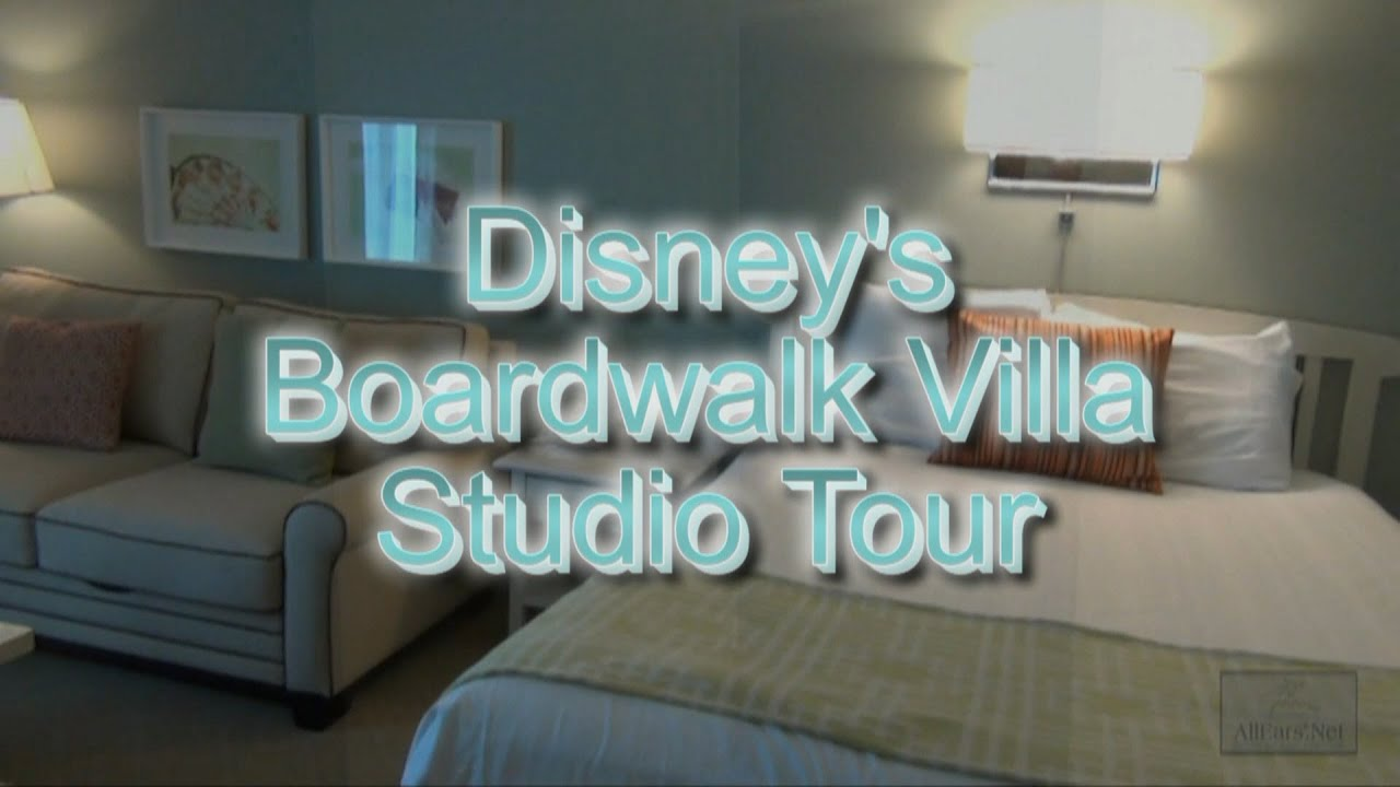 Disneys boardwalk villa studio tour disney vacation club youtube sciox Image collections