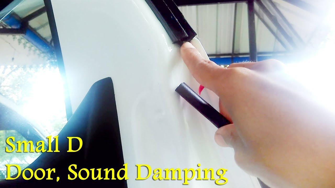 Renault KwidDuster Door Sound D&ing With Small D Rubber Seal - Car Door Soundproof Part 2 & Renault KwidDuster Door Sound Damping With Small D Rubber Seal ... Pezcame.Com