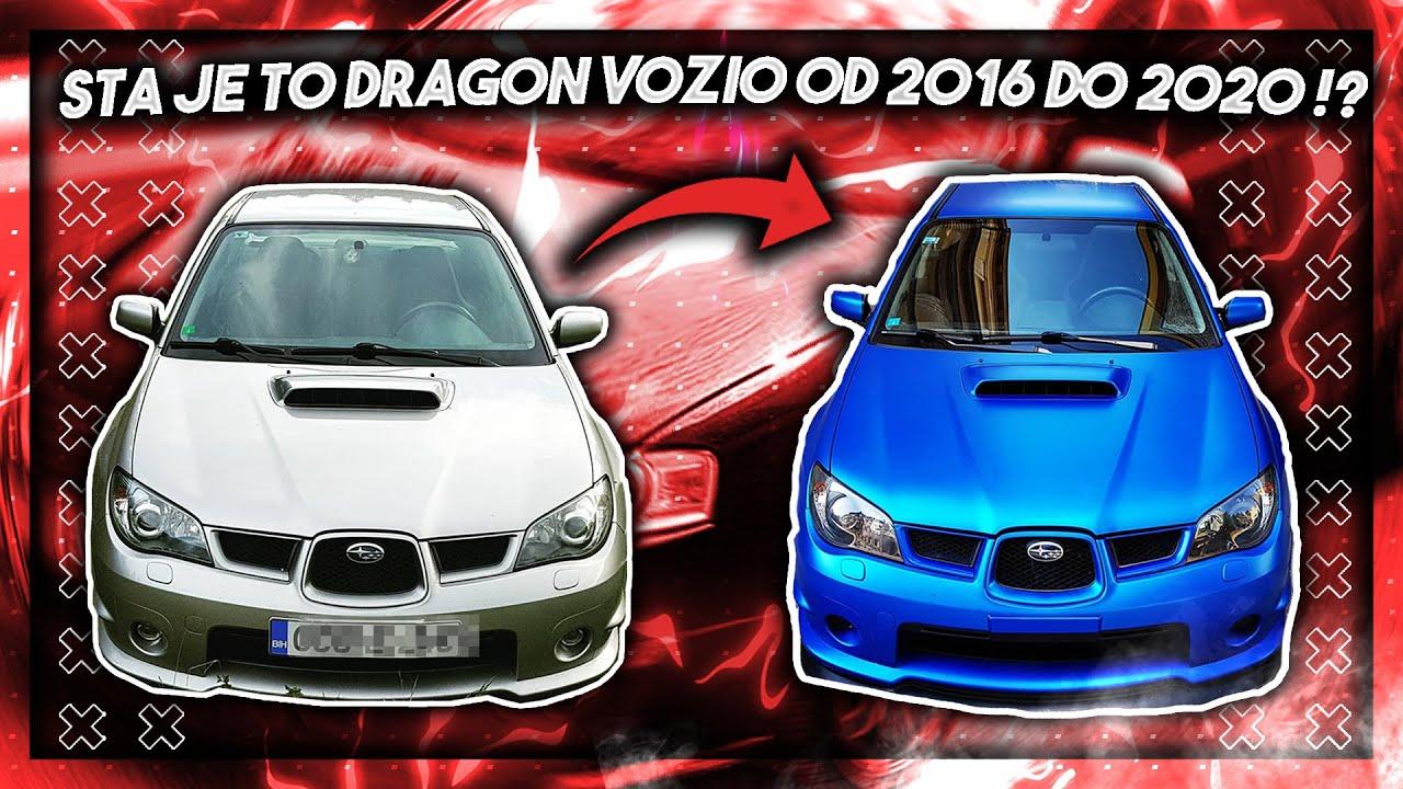 SVI AUTOMOBILI KOJE JE DRAGON VOZIO OD 2016 DO 2020 ?! *koji je najbolji njegov auto*