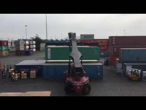 Nhava Sheva Port- Container Loading