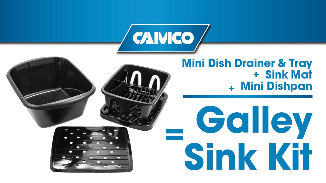 Camco S Galley Sink Kit Perfect Fit Youtube