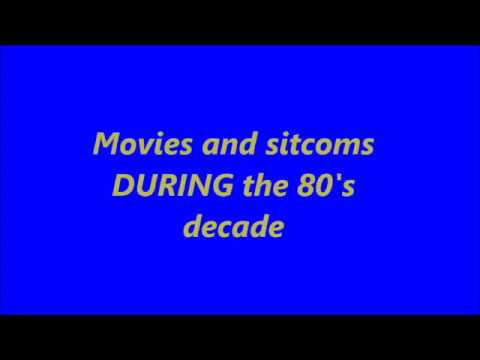 Movies and sitcoms I watched as a kid DURING the 80's decade