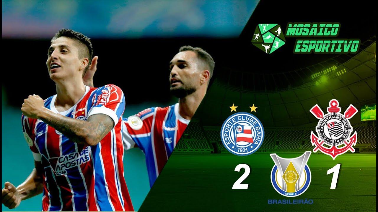 Melhores Momentos de Bahia 2 x 1 Corinthians 33ª rodada do Campeonato Brasileiro