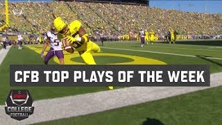 Top 10 College Football Plays of Week 7 | College Football Highlights