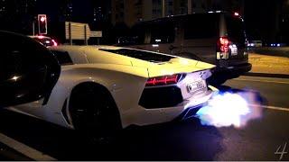 Capristo Lamborghini Aventador says 'Hi' to Dubai