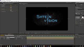 Видео урок Появление логотипа из частиц | Logo Particular | Без плагинов | Урок по After Effects