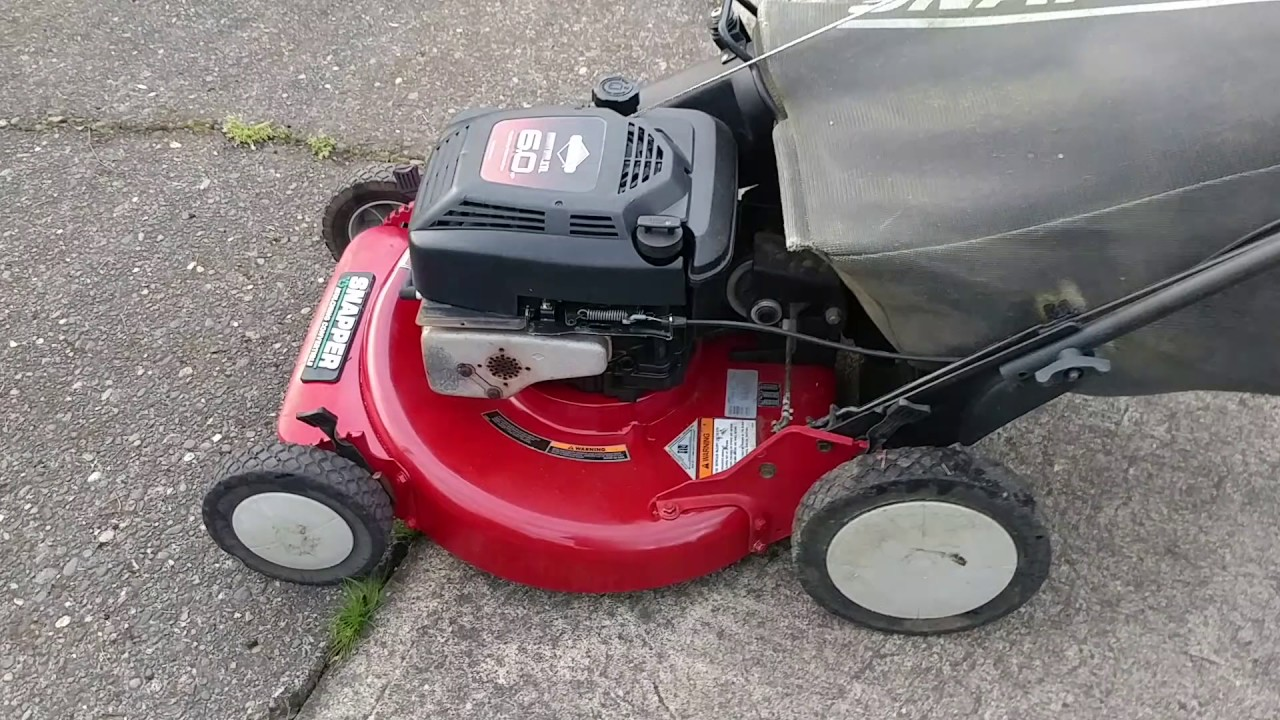 Snapper P216012 21 Quot Self Propelled Mower W Briggs And