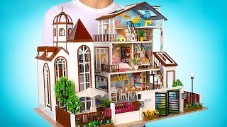 Adding A NEW 3STORY Miniature Wooden House To Our Collection!