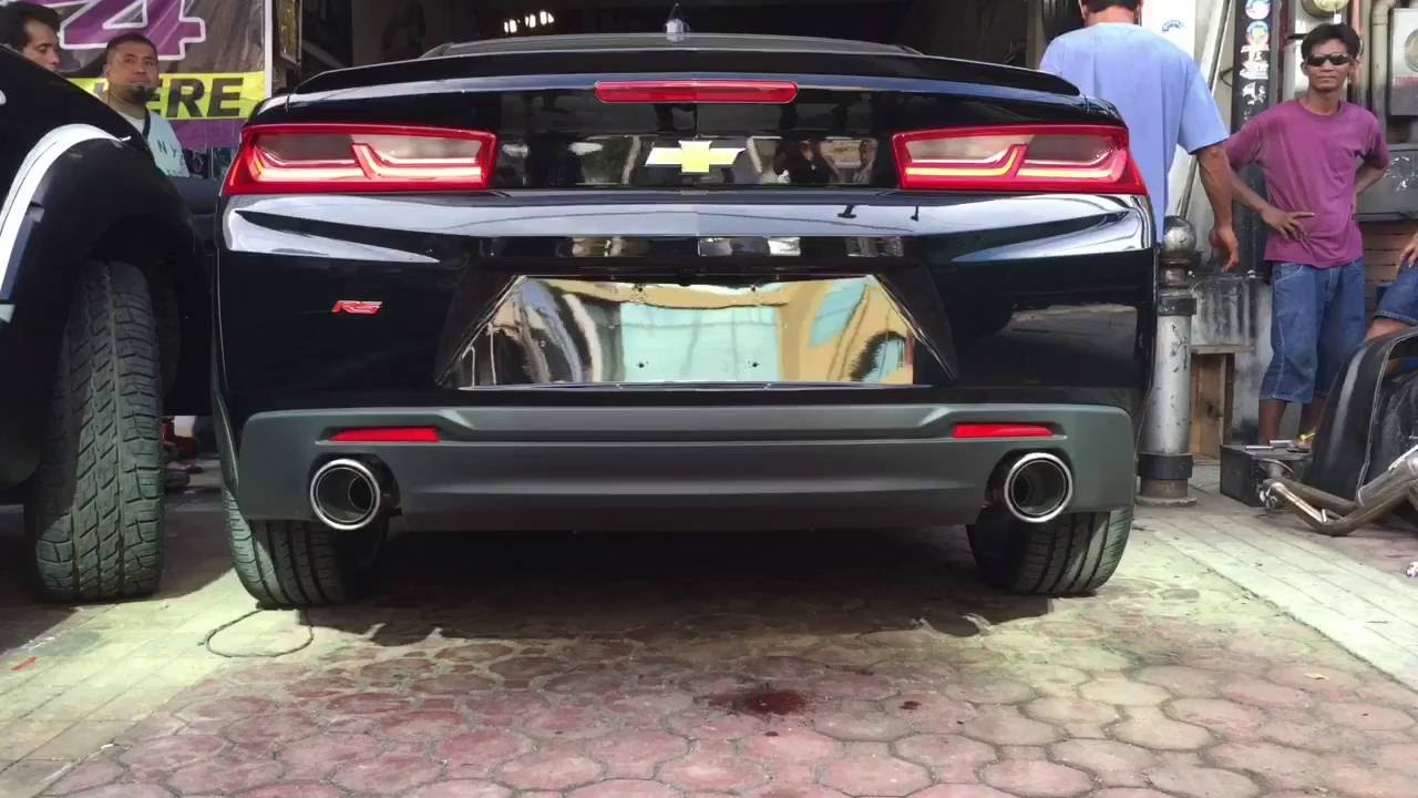 Project Flex 2016 Chevrolet Camaro Rs Installation Of The Borla Catback Exhaust System S Type You