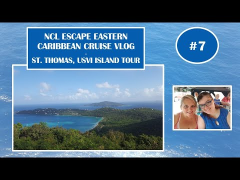 NCL Norwegian Escape May 6 2017 - Cruise Vlog Ep7 - Fun in St. Thomas, USVI!