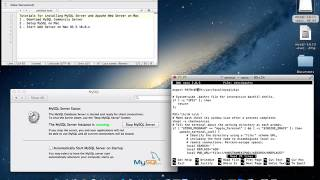 Install MySQL Server and Apache Web Server on Mac OSX