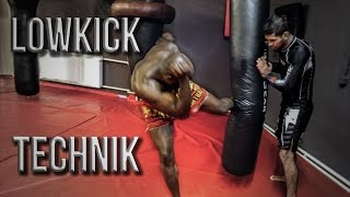 Lowkick Technik - Basic & Train - mit Arda Adas