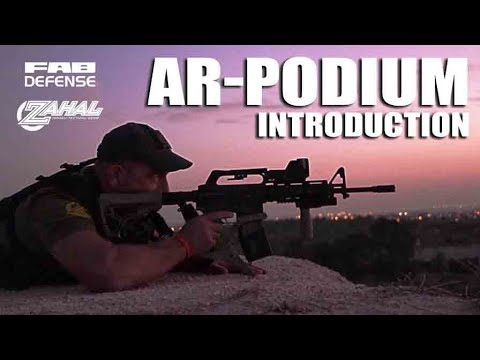 "FAB Defense ""AR-PDIUM"" AR-15 Bi-Pod Introduction w/ DoubleTapper"