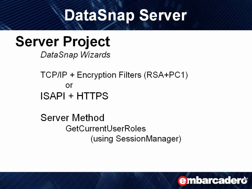 Datasnap In Action 1 Datasnap Server Youtube